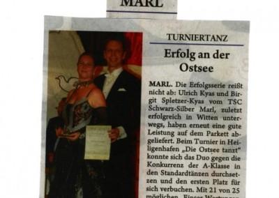 Uli und Birgit geben Gas