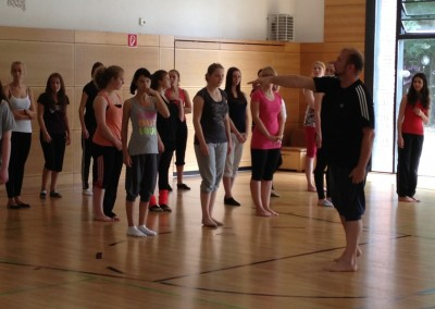 Jazz Modern Dance Workshop 2013