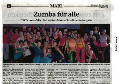 Zumba Masterclass Mai 2015