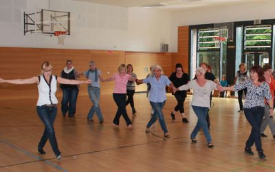 Line-Dance auch ohne Partner